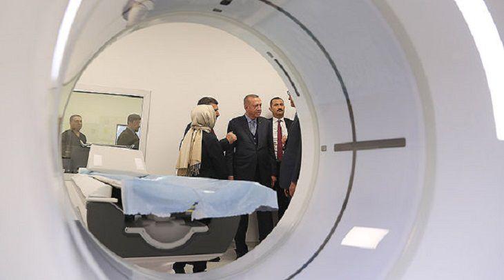 В турецкой Анкаре открыли самую большую в Европе больницу.