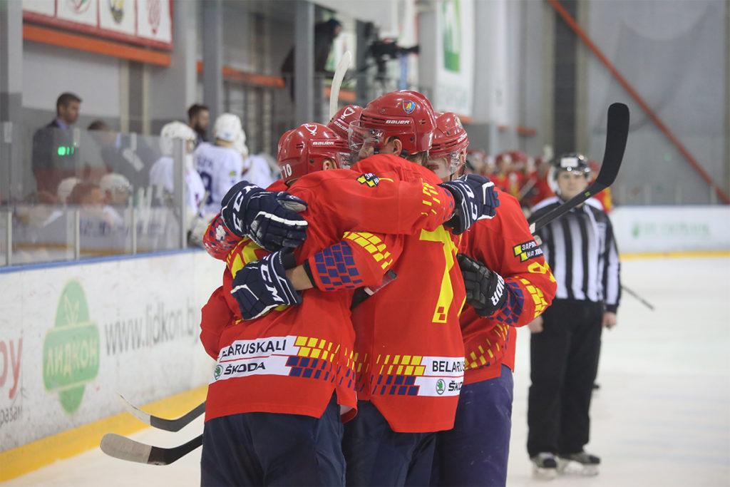 Хоккейный клуб «Лида» одержал победу над «Брестом».