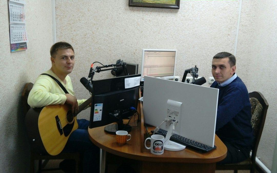 Наш земляк, музыкант, композитор и поэт, гитарист Юрий Косяк