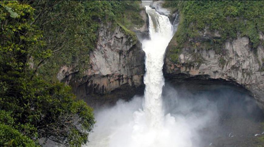 В Эквадоре исчез легендарный 150-метровый водопад Сан-Рафаэль на реке Напо.