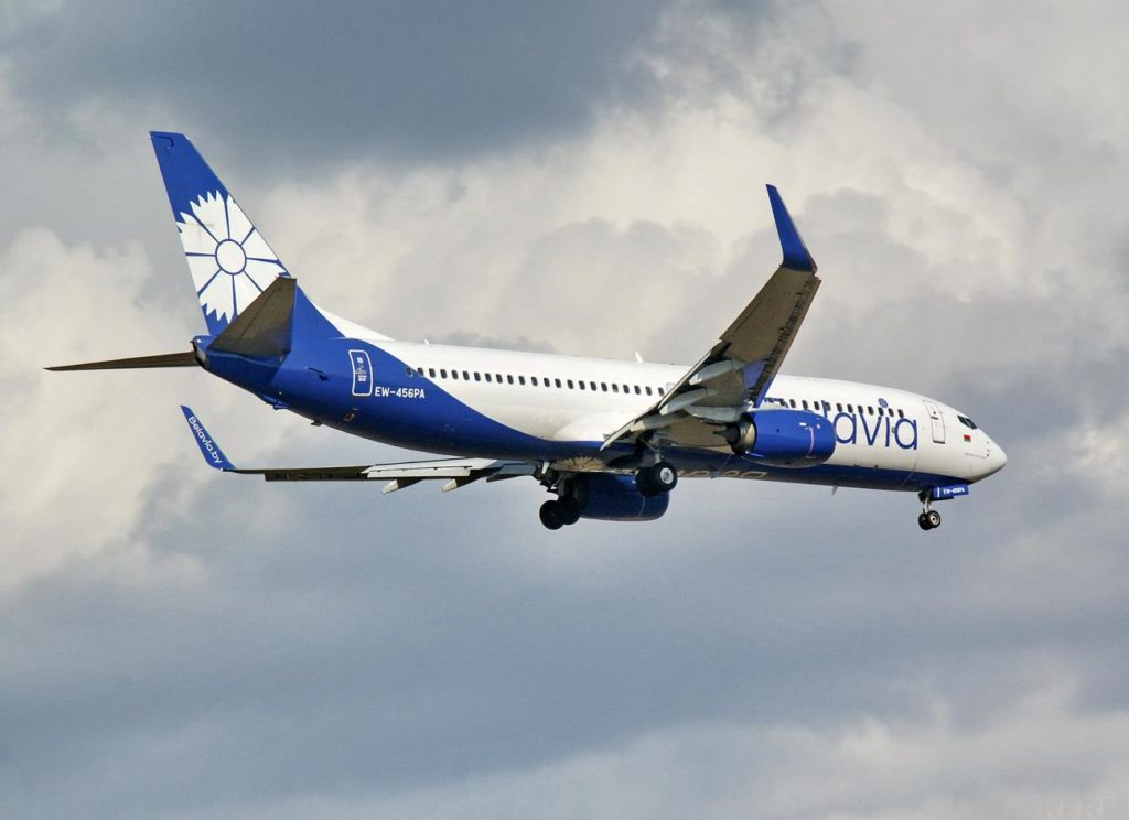 «Белавиа» выполнит несколько рейсов в Италию.