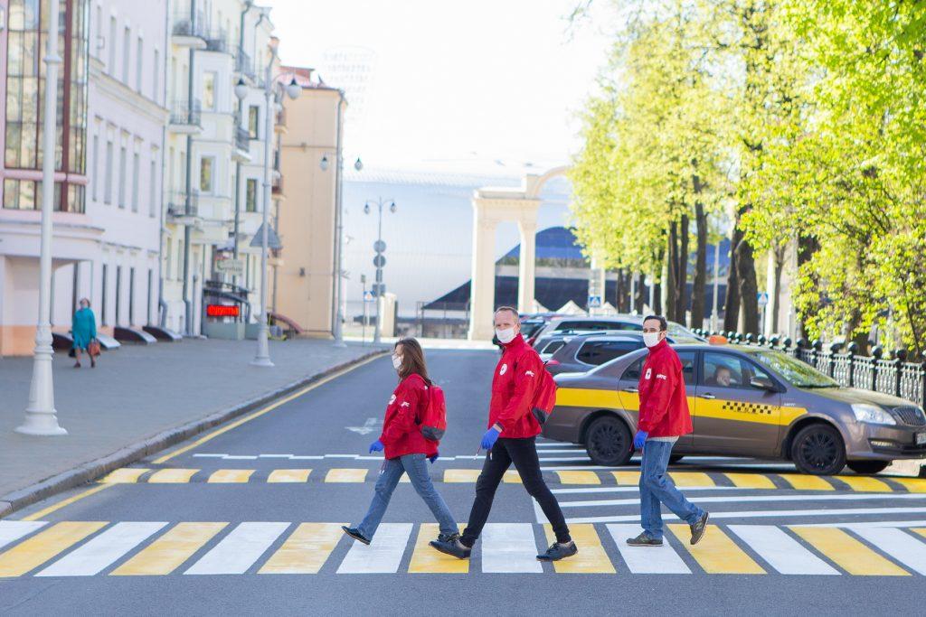 В мае 900 волонтеров «Добрых отрядов» работали в Беларуси.