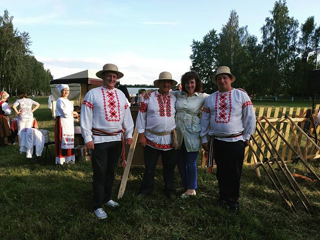 Районный праздник косьбы состоялся на Лидчине.