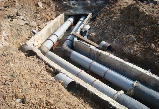 Строительные организации начали закладку инженерных сетей для нового микрорайона Север.