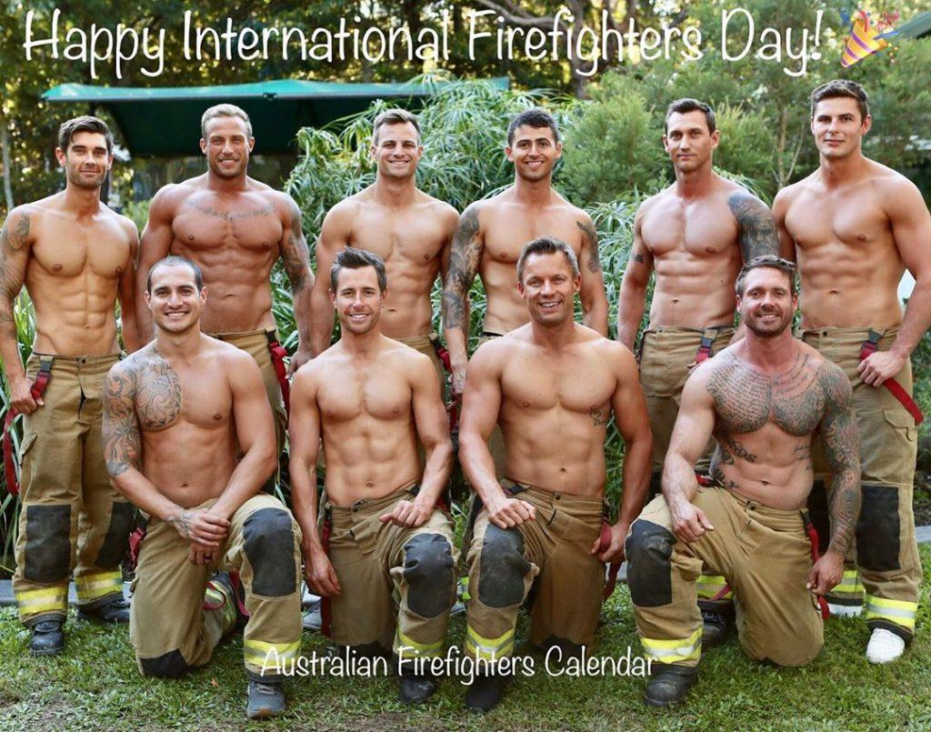 Австралийские пожарные подготовили календарь на 2021 год. Это будет уже 28 выпуск.
