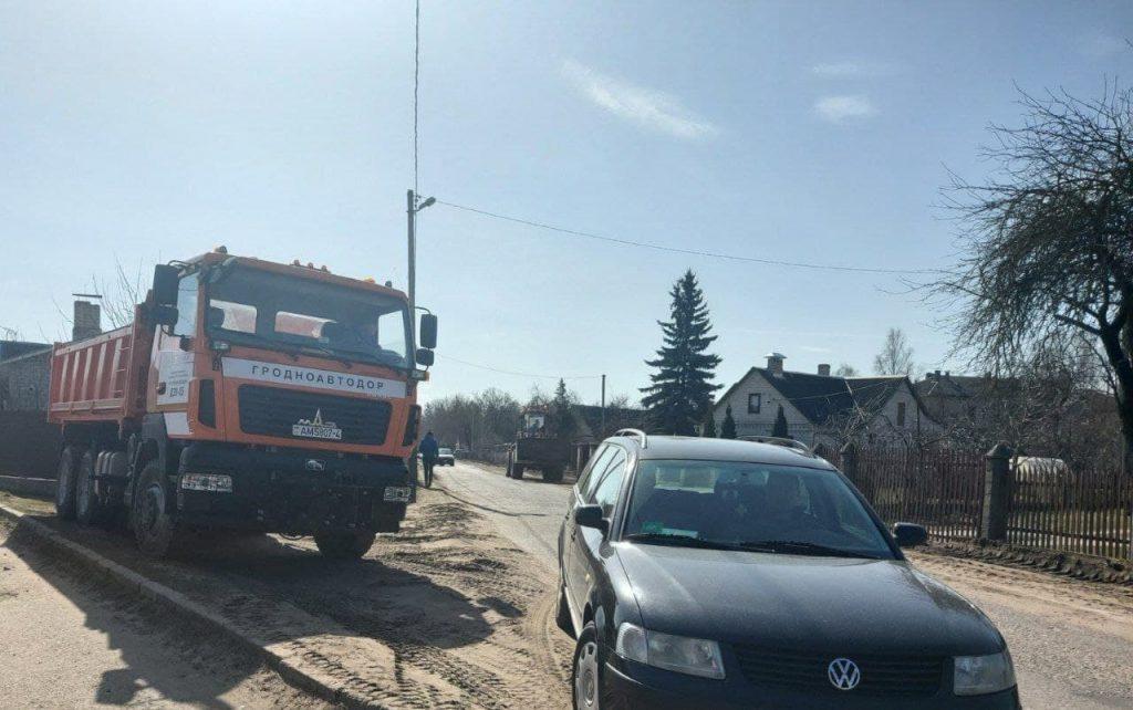 Улицу Малахова в Лиде дополнительно включили в дорожную карту городских улиц под сплошное асфальтирование.