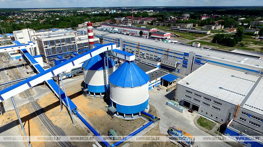 Новый завод по производству картона на Добрушской бумажной фабрике
