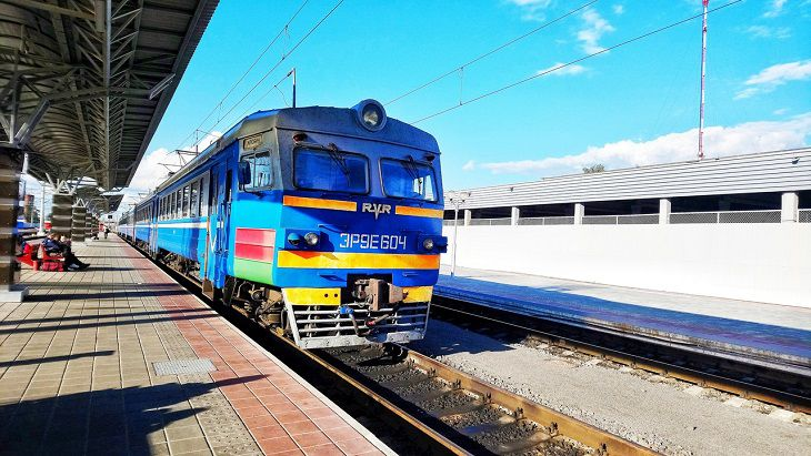 Поезд Минск-Адлер