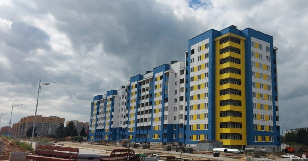 В эксплуатацию в этом месяце будет сдана многоэтажка по ул. Кооперативной в Лиде