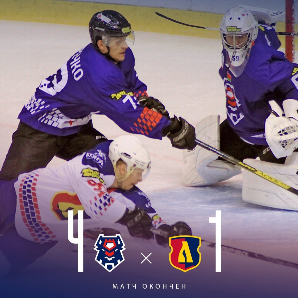Хоккейный клуб «Лида» на выезде уступил «Бресту»