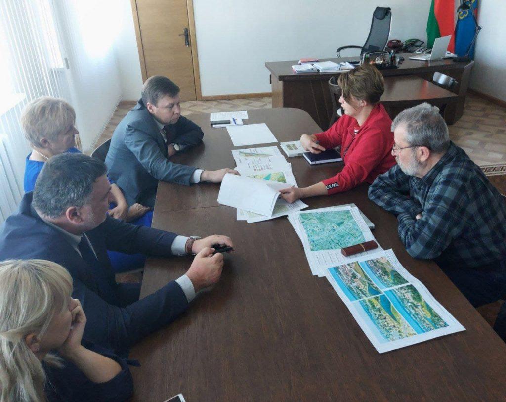 Преподаватели кафедры архитектуры Брестского государственного технического университета посетили Лиду